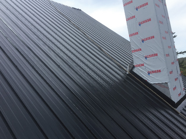 STEEL ROOFS WITH GRANULAR FINISH